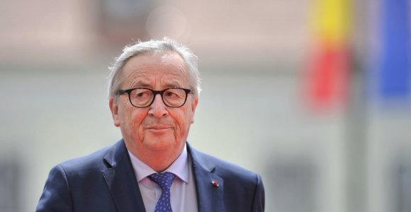 J.C.Junckeris stojo ginti Europos Centrinio Banko po D.Trumpo pareiškimų
