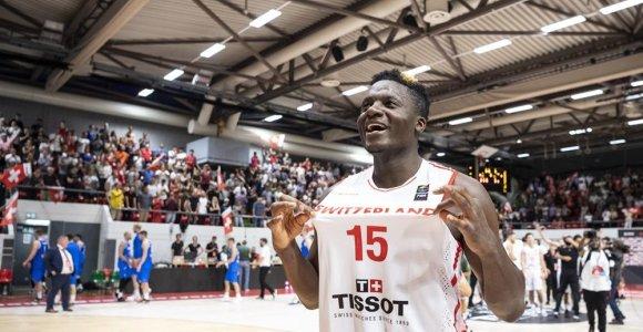 """Eurobasket 2021"" atranka: lietuviams teko danai, C.Capela triumfavo su šveicarais"