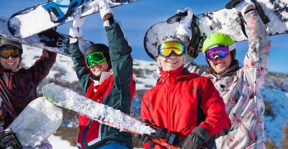 Skelbiu.lt.: Užteks svajoti apie kalnus – laikas išmokti slidinėti: ką verta žinoti apie inventorių