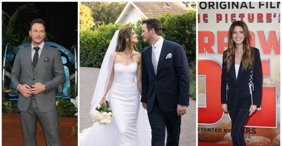 Aktorius Chrisas Prattas vedė Arnoldo Schwarzeneggerio dukrą Katherine: vestuves surengė slapta