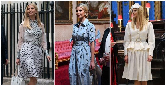 Ivanka Trump vizito Jungtinėje Karalystėje metu aprangai išleido 18 tūkst. eurų
