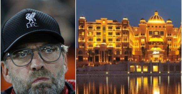 Nepatogus klausimas – kodėl čempionai atsisakė gyventi prabangiausiame viešbutyje?
