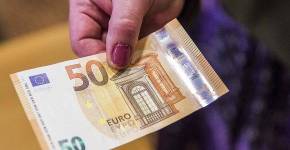 Valstybė ir savivaldybės šiemet gavo 190 mln. eurų neplanuotų pajamų