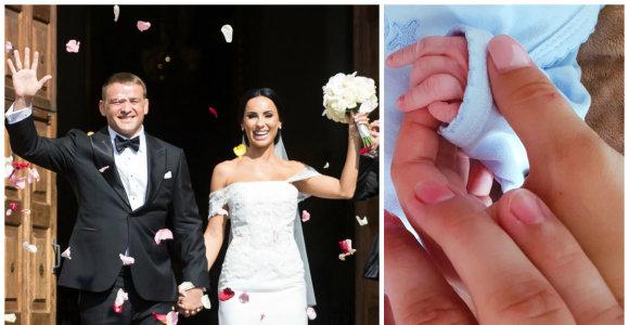 """Greta Lebedeva su vyru atšventė popierines vestuves: """"Tapus šeima išsipildė visos svajonės"""""""