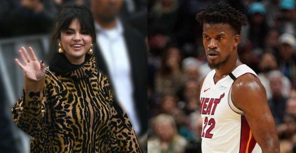 Selena Gomez nusižiūrėjo NBA žvaigždę: ar vienas kito draugija besimėgaujančios garsenybės – pora?