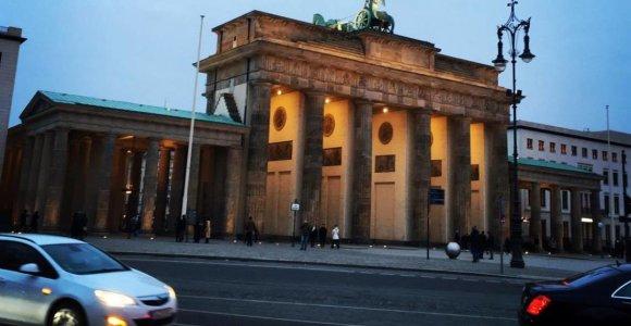 Berlyne antrąkart per dvi savaites užpultas rabinas