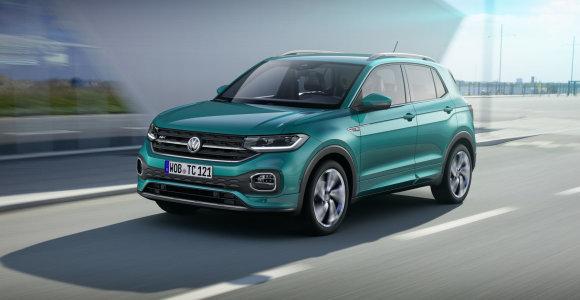 """Volkswagen"" pažadas: visureigio ""T-Cross"" kaina nustebins"