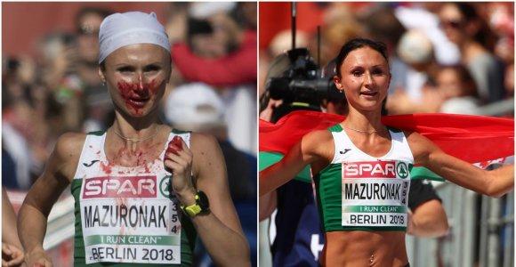 Maratono trasoje – kruvina čempionė