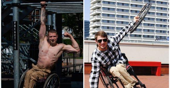 Negalią turintis pasaulio fitneso čempionas Viktoras: galiu papasakoti, kaip labiau pasitikėti savimi ir nugalėti baimes