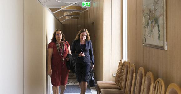 """Teisingumo ministrė Milda Vainiutė apie neskirtus vadovus: """"Ar įstatymų reikia laikytis aklai?"""""""
