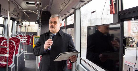 """Po skandalo iš pareigų pasitraukęs M.Grigelis grįžo vadovauti """"Kauno autobusams"""""""