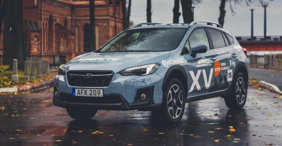 """Konkurso """"Tautos automobilis 2019"""" finišo tiesioji: """"Subaru XV"""""""