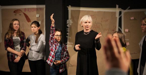 Trečioji dienos kūrybiškumo stovykla Keistuolių teatre vaikams žada naujoves