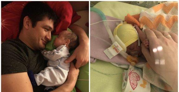 """Marija Romancova: """"Jeigu ne medikai, mūsų 700 g kūdikis būtų neišgyvenęs"""""""