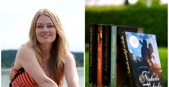 Meilės romanų autorė Indrė Vakarė: daugelio moterims svarbių dalykų vyrai net nepastebi