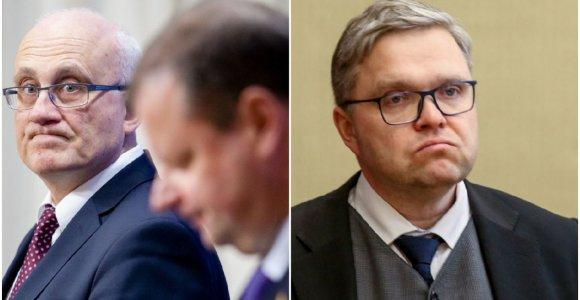 Neviešintos krizės tyrėjų rekomendacijos: atstatydinti V.Vasiliauską tikėjosi net ir žlugus balsavimui Seime