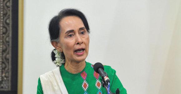 Pietų Korėjos fondas atims iš Aung San Suu Kyi savo skirtą apdovanojimą