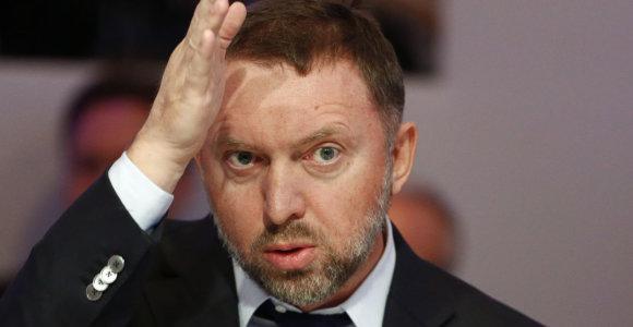 Olegas Deripaska: GAZ dėl JAV sankcijų gali bankrutuoti