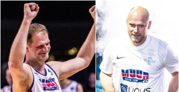 Saulius Štombergas grįžo į aikštę dėl Estijos krepšinio legendos