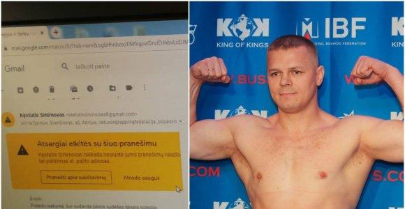 Seimo narys Kęstutis Smirnovas negali veikti graplingo federacijoje, bet laiškas kelia įtarimų