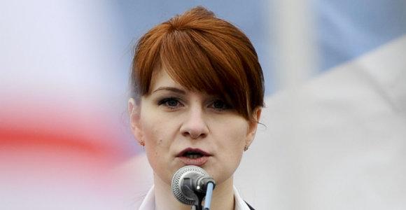 Rusų agentė Marija Butina teisme prisipažino dėl sąmokslo prieš JAV