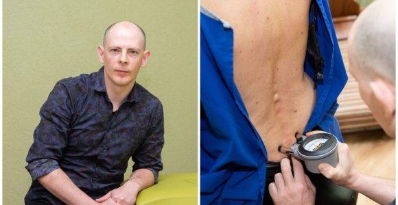 Iš Jungtinės Karalystės grįžęs kineziterapeutas – apie nugaros skausmus: tiesinate stuburą, bet esmė – ne tai