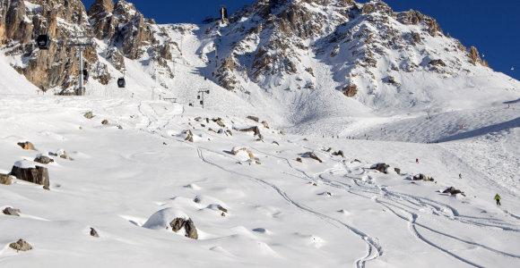 Dėl prastų orų atšaukus skrydžius Prancūzijos Alpėse įstrigo apie 1 000 turistų