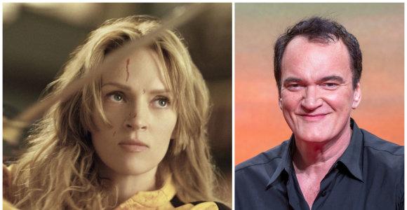 """Quentinas Tarantino rimtai svarsto apie trečią """"Nužudyti Bilą"""" dalį: tai būtų jo paskutinis filmas"""