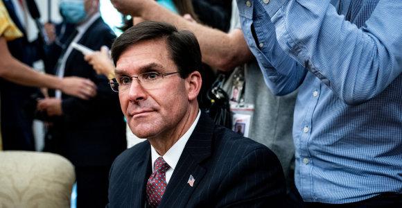 Pentagono vadovai bus apklausti dėl kariuomenės naudojimo neramumams malšinti