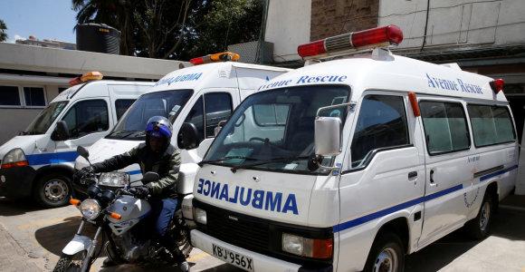 Kenijoje dėl didžiulio gaisro ligoninėje teko evakuoti per 100 pacientų