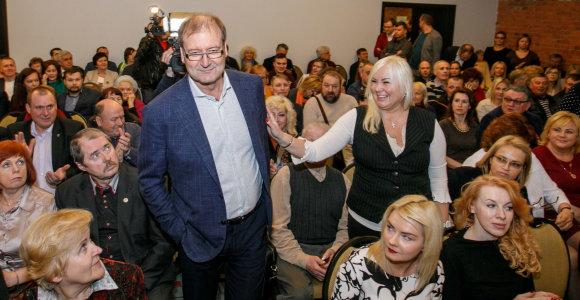 Viktoras Uspaskichas patvirtino dalyvausiąs Darbo partijos pirmininko rinkimuose
