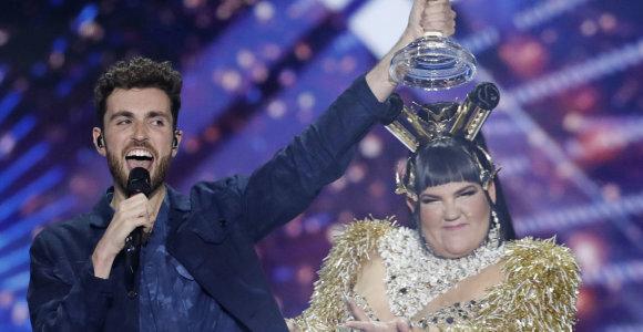 """""""Eurovizijos"""" finale įsivėlė klaida: paskelbti atnaujinti rezultatai"""