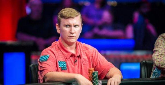 Pasaulio pokerio čempionato finalas jau pareikalavo dviejų aukų