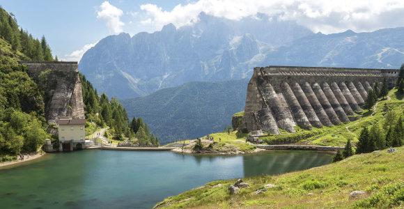 """Niūri vieta Italijoje: kalnuose galima rasti """"Gleno tragedijos"""" liekanų"""