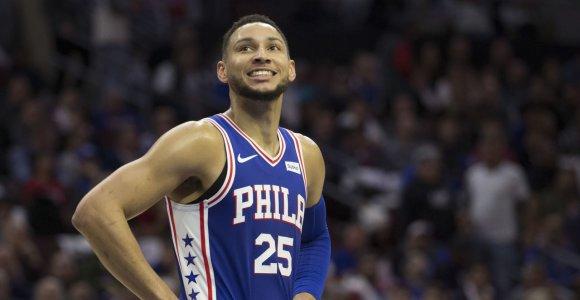 """Australas stipriai praturtėjo – """"76ers"""" sudarė maksimalų kontraktą su B.Simmonsu"""