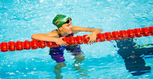 Kotryna Teterevkova buvo arti pusfinalio: pritrūko 0,17 sek.