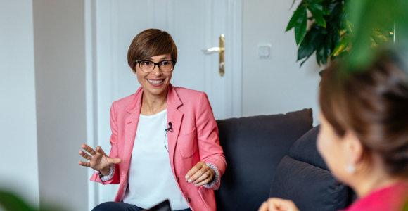 Lina Danienė: keisdami veiklą, savo gyvenimą keičiame tik 10 proc.