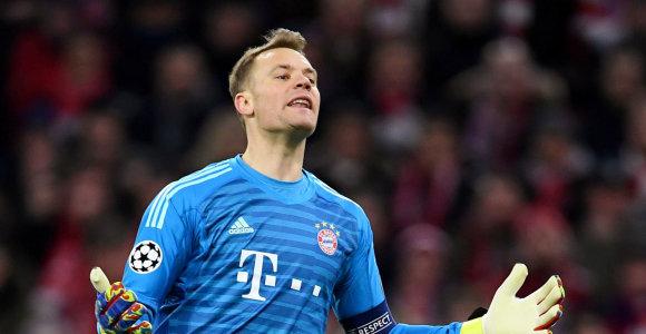 """""""Bayern"""" surado M.Neuerio įpėdinį, bet veteranui tai nepatiko"""