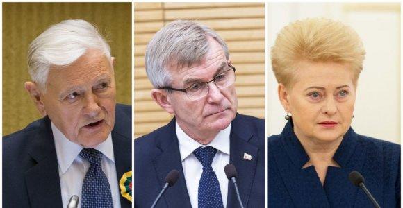 Seimo pirmininkui V.Adamkus buvo labiau prezidentiškas už D.Grybauskaitę