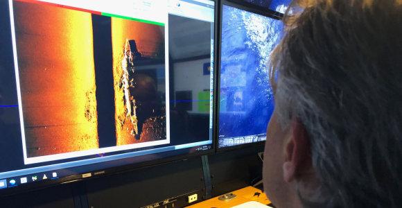 Tyrėjai Ramiajame vandenyne rado antrąjį per Midvėjaus mūšį nuskandintą lėktuvnešį