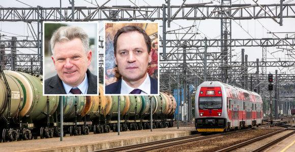 15min paaiškina: kodėl J.Narkevičių ginantis V.Tomaševskis išsitraukė geležinkelių kortą