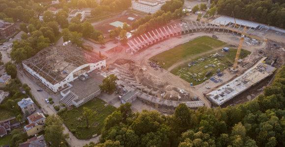 Dėl nenumatytų darbų pabrango Kauno sporto halės ir stadiono rekonstrukcijos