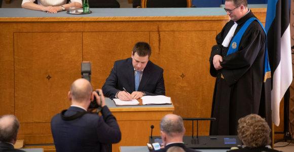 Prisaikdinta naujoji Estijos vyriausybė