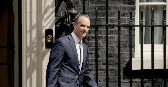 """Naujasis britų """"Brexit"""" sekretorius grasina neapmokėti pasitraukimo iš ES sąskaitos"""