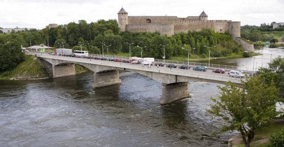Prancūzas perplaukė Narvos upę, bandydamas iš Estijos patekti į Rusiją, ir buvo sulaikytas