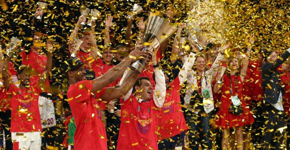 Eurolygos finale – CSKA triumfas