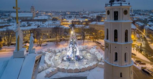 Kalėdinis Vilnius – gražiausių pasaulyje kalėdinių puošmenų topuose
