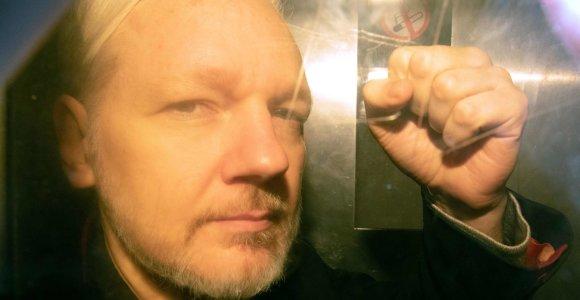JAV pareiškė kaltinimų J.Assange'ui dėl Šnipinėjimo įstatymo pažeidimų