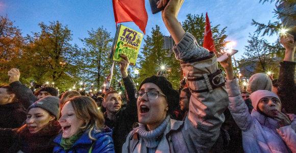 Andrejus Percevas: rusai nebebijo protestuoti