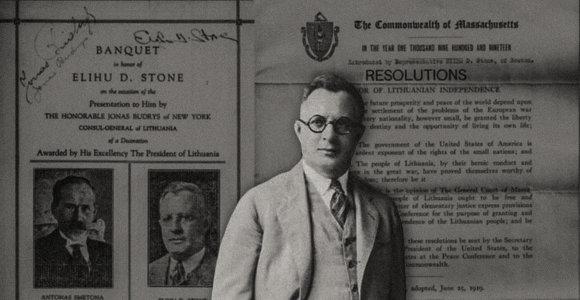 Prezidento A.Smetonos apdovanoto E.Stone'o istorija: jo dėka priartintas Lietuvos valstybės pripažinimas JAV